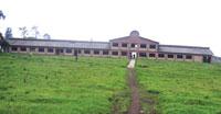 폐허: 2004년 뮤덴데 캠퍼스에 남아 있는 옛 중앙 건물